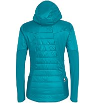 Salewa Ortles Hybrid - Isolationsjacke mit Kapuze - Damen, Light Blue/Red