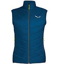 Salewa Ortles Hybrid TW CLT - gilet sci alpinismo - uomo, Dark Blue/Green