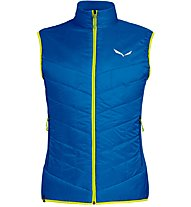 Salewa Ortles Hybrid TW CLT - gilet sci alpinismo - uomo, Light Blue/Yellow