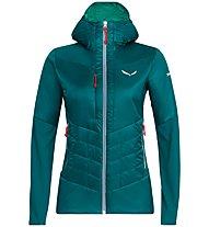 Salewa Ortles Hybrid - Isolationsjacke mit Kapuze - Damen, Green