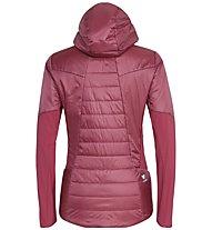 Salewa Ortles Hybrid Tw Clt - giacca ibrida - donna, Dark Red