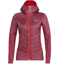 Salewa Ortles Hybrid - Isolationsjacke mit Kapuze - Damen, Dark Red