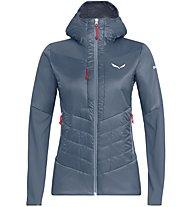 Salewa Ortles Hybrid Tw Clt - giacca ibrida - donna, Grey