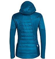Salewa Ortles Hybrid Tw Clt - giacca ibrida - donna, Blue