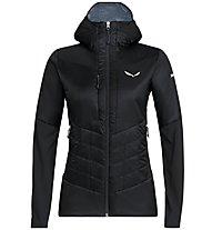 Salewa Ortles Hybrid Tw Clt - giacca ibrida - donna, Black