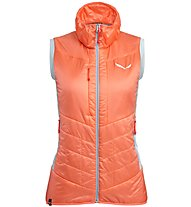 Salewa Ortles Hybrid TW Clt - gilet ibrido - donna, Orange