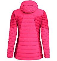 Salewa Ortles Light 2 Down Hooded - giacca in piuma - donna, Pink/Dark Pink