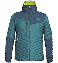 Salewa Ortles Light 2 Down - giacca in piuma - uomo, Blue/Green