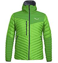 Salewa Ortles Light 2 Down - giacca in piuma - uomo, Green/Black