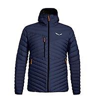 Salewa Ortles Light 2 Down - giacca in piuma - uomo, Dark Blue/Orange