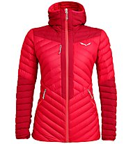 Salewa Ortles Light 2 - Daunenjacke mit Kapuze - Damen, Red/Light Red