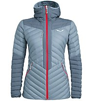Salewa Ortles Light 2 - Daunenjacke mit Kapuze - Damen, Grey/Red