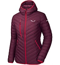 Salewa Ortles Light - Daunenjacke mit Kapuze - Damen, Red