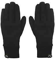 Salewa Ortles Liner 2 Wool - guanti scialpinismo - uomo, Black