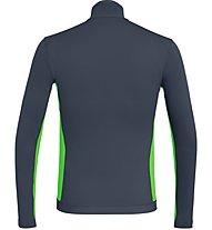 Salewa Ortles - Wandershirt mit Reißverschluss - Herren, Dark Grey/Green