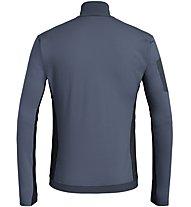 Salewa Ortles M L/S Zip - maglia a maniche lunghe - uomo, Black/Grey