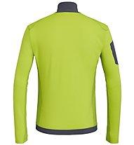 Salewa Ortles M L/S Zip - maglia a maniche lunghe - uomo, Green