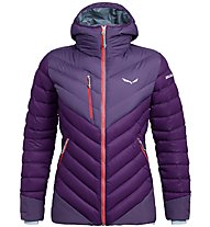Salewa Ortles Medium 2 Dwn W - giacca in piuma - donna, Violet/Red