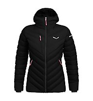 Salewa Ortles Medium 2 Dwn W - giacca in piuma - donna, Black/Pink