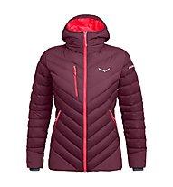 Salewa Ortles Medium 2 Dwn W - giacca in piuma - donna, Purple/Red