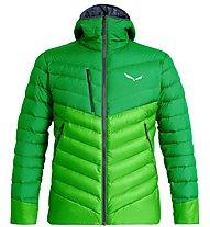 Salewa Ortles Medium 2 - Daunenjacke mit Kapuze - Herren, Green/Light Green