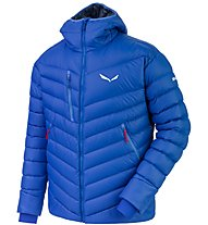 Salewa Ortles Medium - Daunenjacke mit Kapuze - Herren, Blue