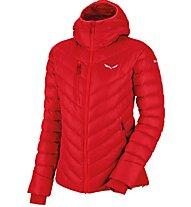 Salewa Ortles Medium - Giacca in piuma alpinismo - Donna, Red