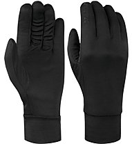 Salewa Ortles Pl/Silk Gloves Guanti alpinismo, Black