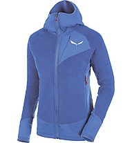 Salewa Ortles PTC Highloft - Fleecejacke mit Kapuze - Damen, Light Blue