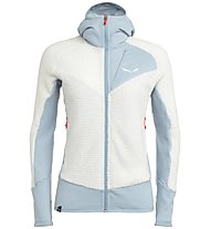 Salewa Ortles PTC Highloft - Fleecejacke mit Kapuze - Damen, White