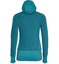 Salewa Ortles PTC Highloft - Fleecejacke mit Kapuze - Damen, Blue