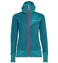 Salewa Ortles Highloft - giacca in pile - donna, Blue