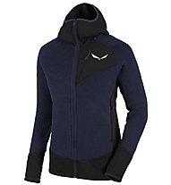 Salewa Ortles PTC Highloft - Fleecejacke mit Kapuze - Damen, Black