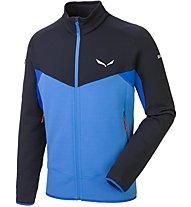 Salewa Ortles - giacca in pile trekking - uomo, Blue