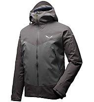Salewa Ortles PTX 3L Stretch - giacca con cappuccio alpinismo - uomo, Grey