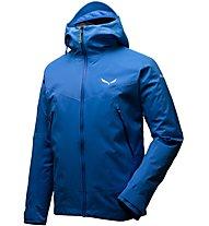 Salewa Ortles PTX 3L Stretch - giacca con cappuccio alpinismo - uomo, Blue