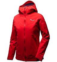 Salewa Ortles PTX 3L Stretch - giacca con cappuccio alpinismo - donna, Red
