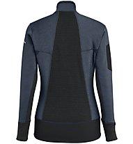 Salewa Ortles Stretch Hybrid - Fleecejacke Skitouren - Damen, Dark Blue/Black