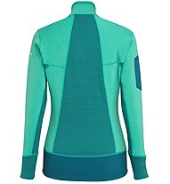 Salewa Ortles Stretch Hybrid - giacca in pile - donna, Green