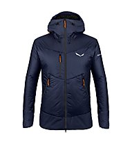 Salewa Ortles Twc - Kapuzenjacke Skitouren - Herren, Dark Blue/Orange