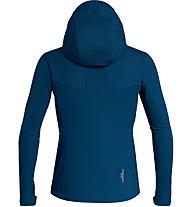Salewa Ortles WS - giacca softshell - uomo, Dark Blue/Green