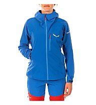 Salewa Ortles - Softshelljacke mit Kapuze - Damen, Blue