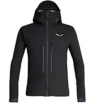 Salewa Ortles Windstopper - Softshelljacke mit Kapuze - Herren, Black