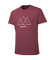 Salewa Overlay Dry - T-Shirt trekking - uomo, Red