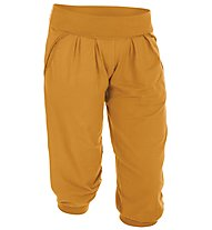 Salewa Peaceful pantaloni corti arrampicata bambino, Marigold