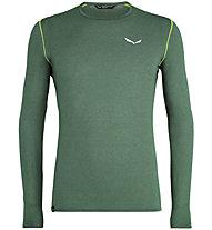 Salewa Pedroc 2 Dry Long Sleeve - maglia maniche lunghe - uomo, Green