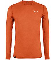Salewa Pedroc 2 Dry Long Sleeve - maglia maniche lunghe - uomo, Dark Orange