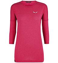 Salewa Pedroc 2 Dry - Shirt Langarm - Damen, Pink