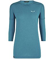 Salewa Pedroc 2 Dry - Shirt Langarm - Damen, Light Blue