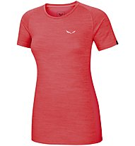 Salewa Pedroc 2 Dry W S/S Tee - T-Shirt Damen, Red
